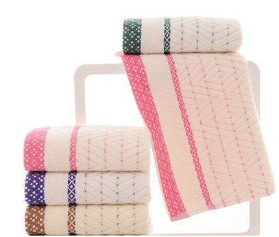 Wholesale Cotton Towel, Yarn Jacquard Towel, Supermarket Towel Promotion