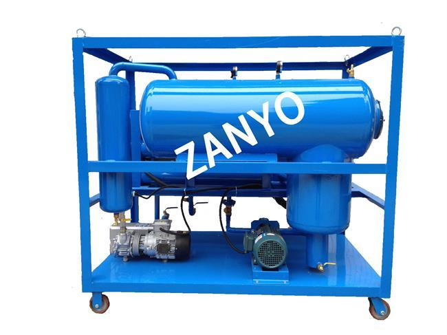 High Quality Industrial Lubricating Oil Purification Machine, Fast Dewater, Degas, Particles Removal