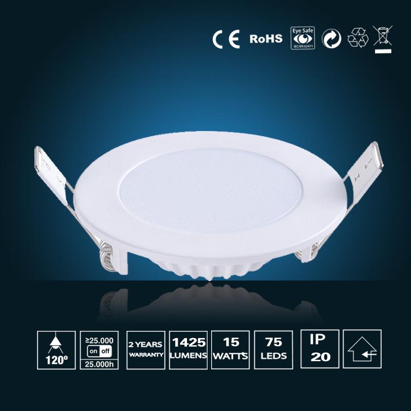 15W LED Panel Lighting φ 190*16mm