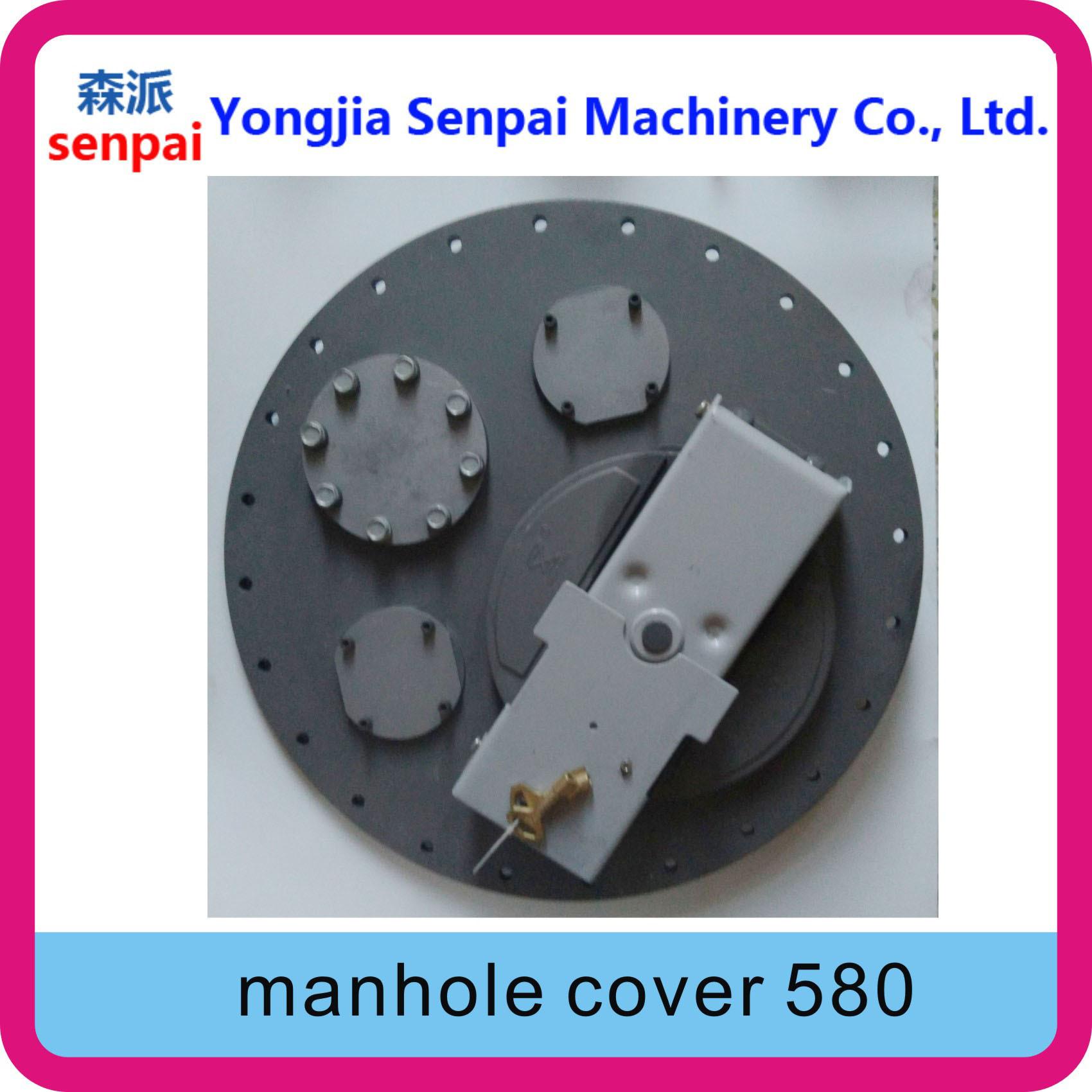 Senpai Machinery Tanker Accessory API 580mm 58cm Alloy Manhole Cover