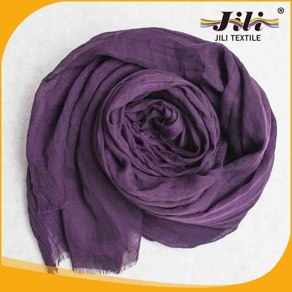 2016 Hot Fashion Printed Voile Scarf