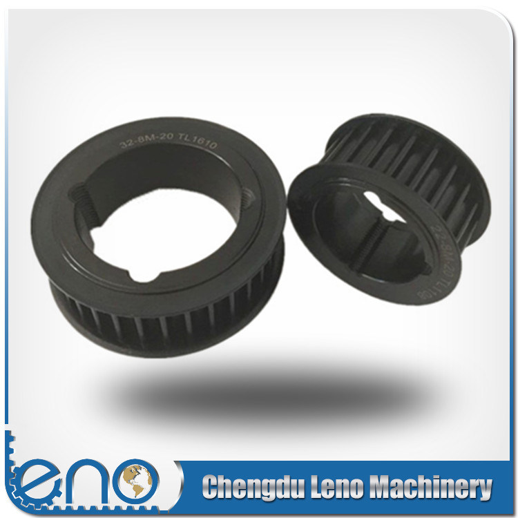 Taper Bore Steel Htd 8mm Pitch Timing Pulley