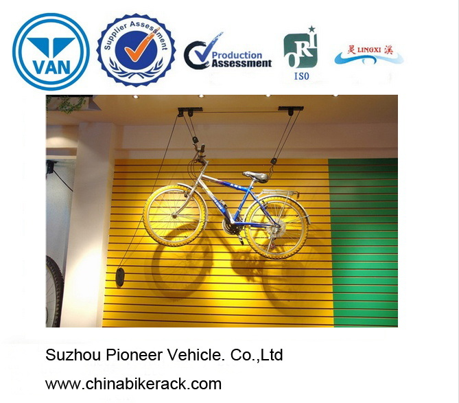 Unique Designed Ceiling Bike Lift with Large Loading Capacity