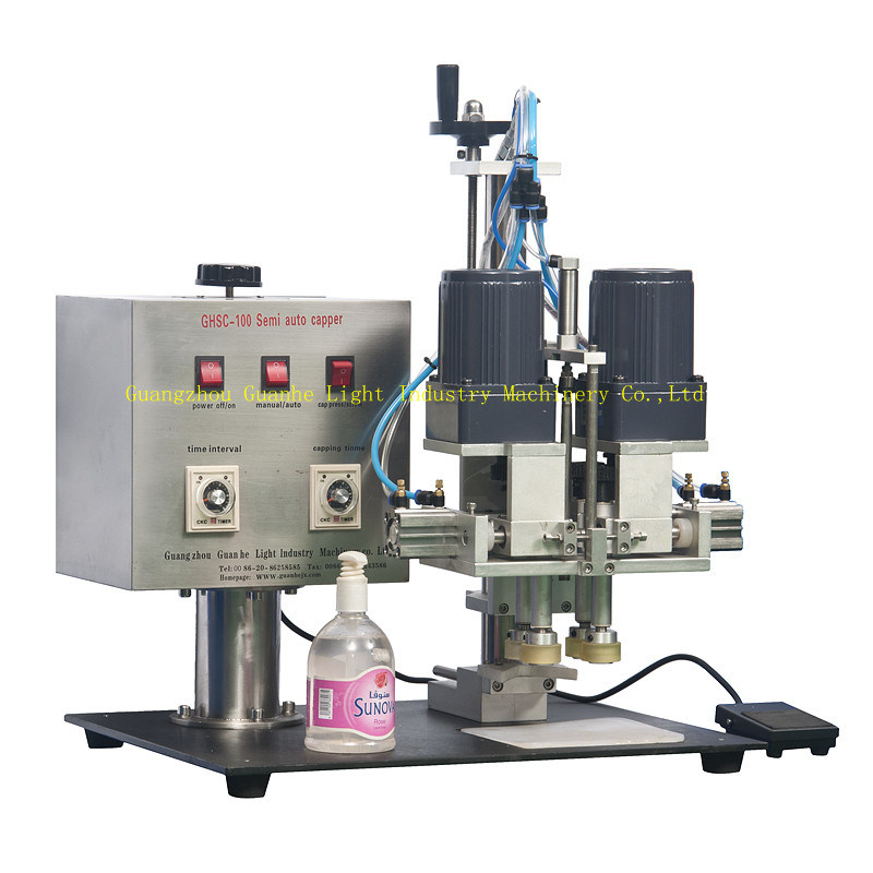 Small Essential Oil Filling Machine with Peristaltic Pump Filling