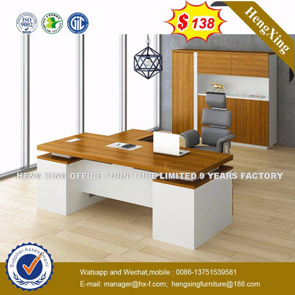 China Modern Office Furniture MFC Wooden MDF Office Table (HX-8N1002)