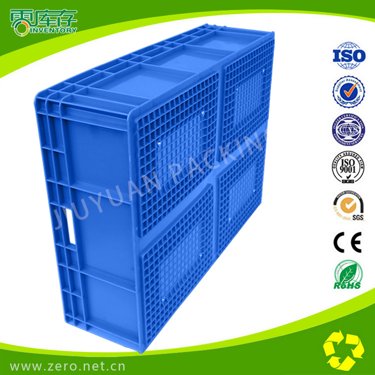 Blue Virgin PP Material Stackable Plastic Box
