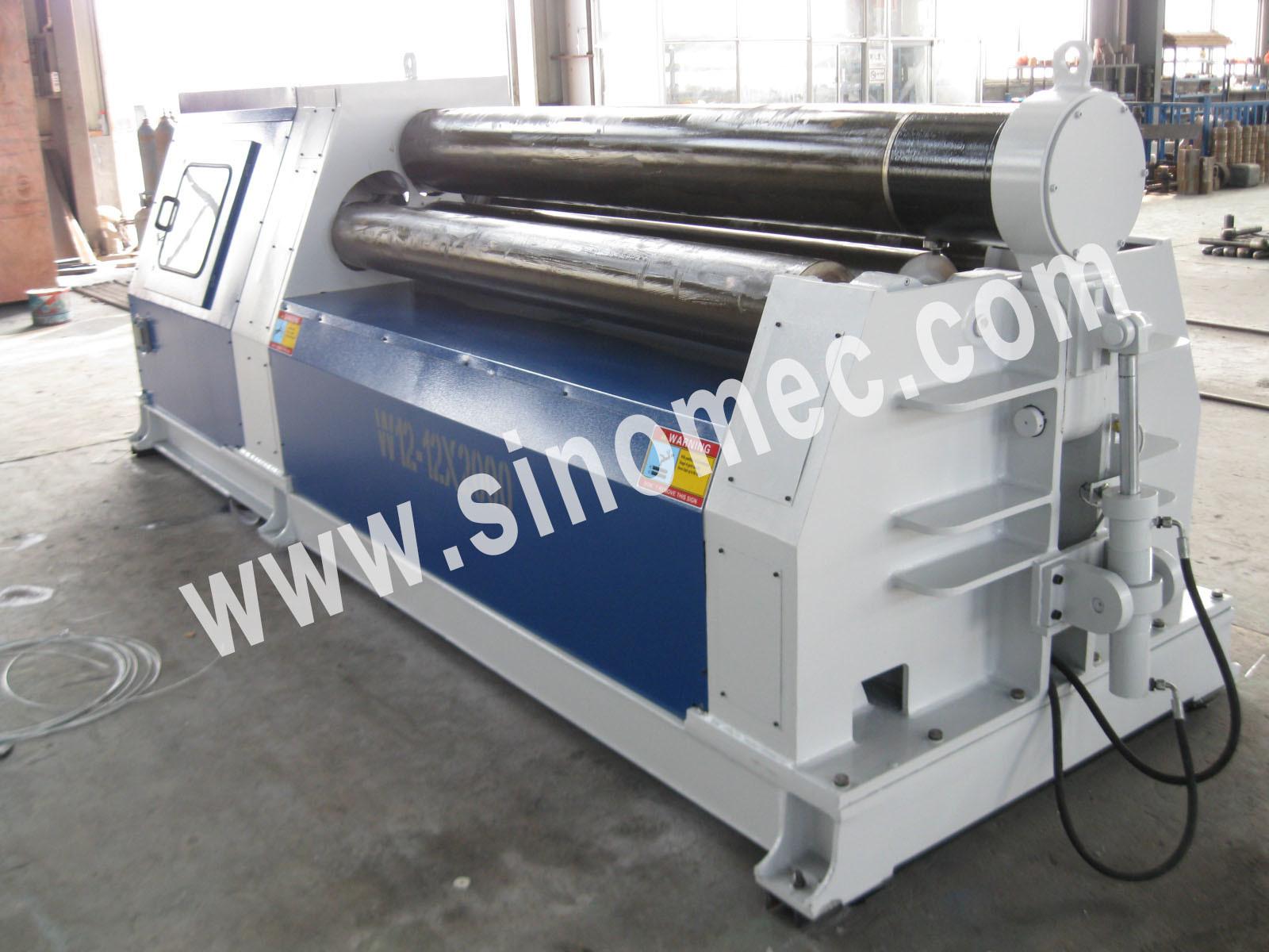 Bending Machine / Rolling Machine / Hydrualic 4 Roller Machine