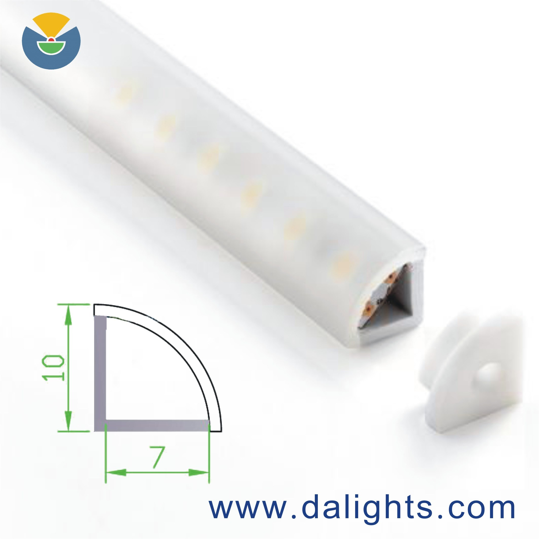 LED Aluminum Profile Dal0710
