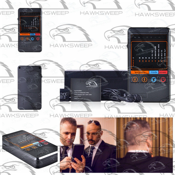 Bug / Tapping Wireless Signal Detector with Cellphone Key