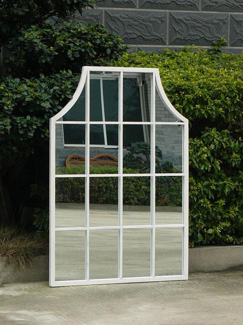 China Very Nice Outdoor Decorative Metal Frame Window