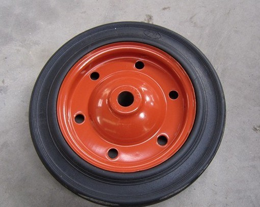 "High Quality Solid Rubber Wheel 13""X3"""