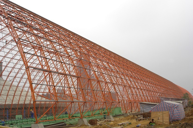 Steel Structure Limestone Warehouse