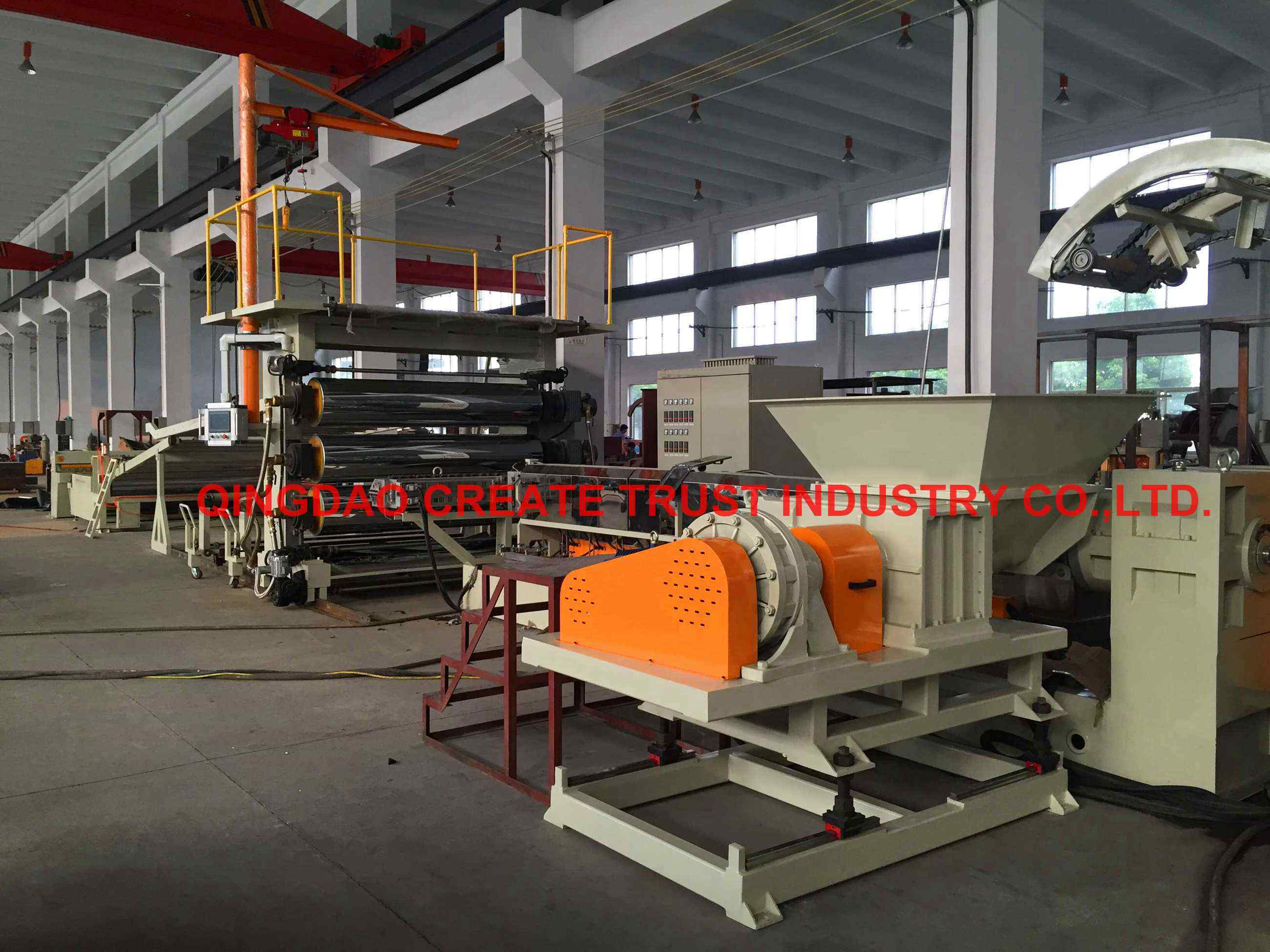 Top Quality Level Pet, PP, PS, PE, ABS Plastic Sheet Extruder (CE/ISO9001)