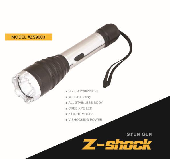 LED Flashlight Stun Gun for Self-Defense with Ce