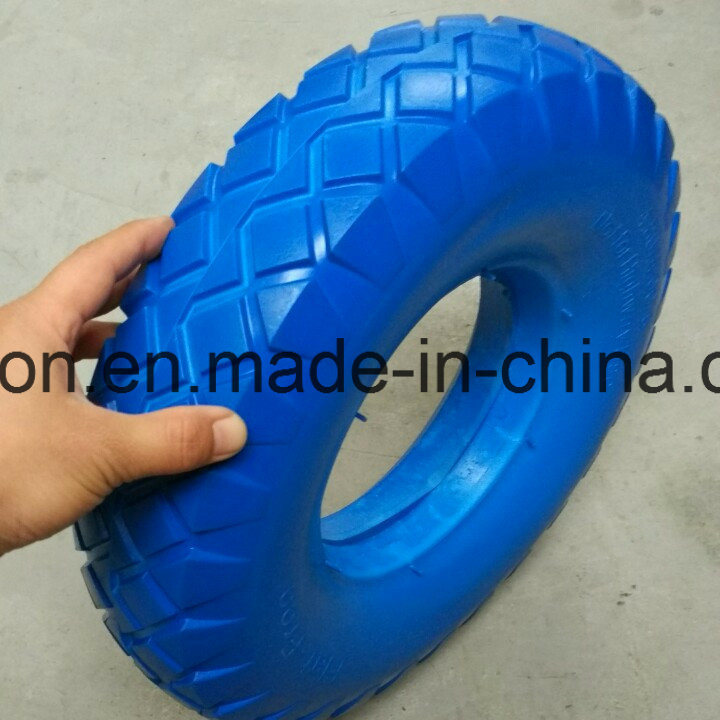 16X4.00-8 Wheelbarrow Solid Rubber Wheel