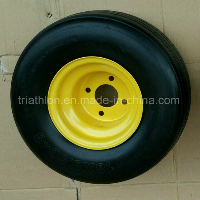 18X8.50-8 8.50-10 8.50-12 Flat Free Golf Cart Tires