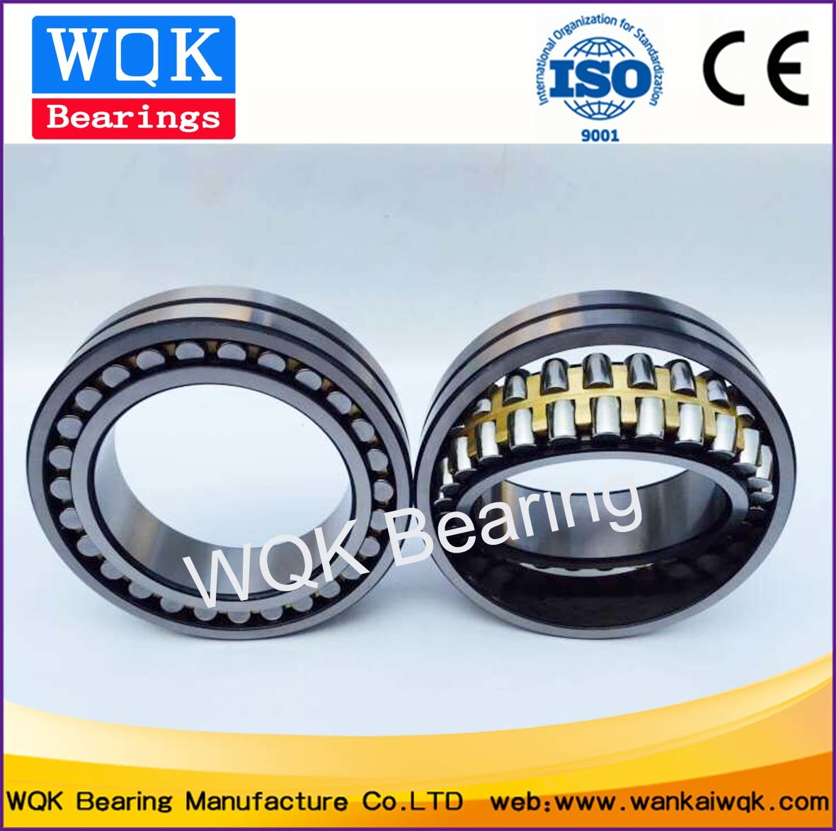 Rolling Bearing 23036 MB C3 ABEC-3 Rolling Mill Bearing Spherical Roller Bearing Brass Cage