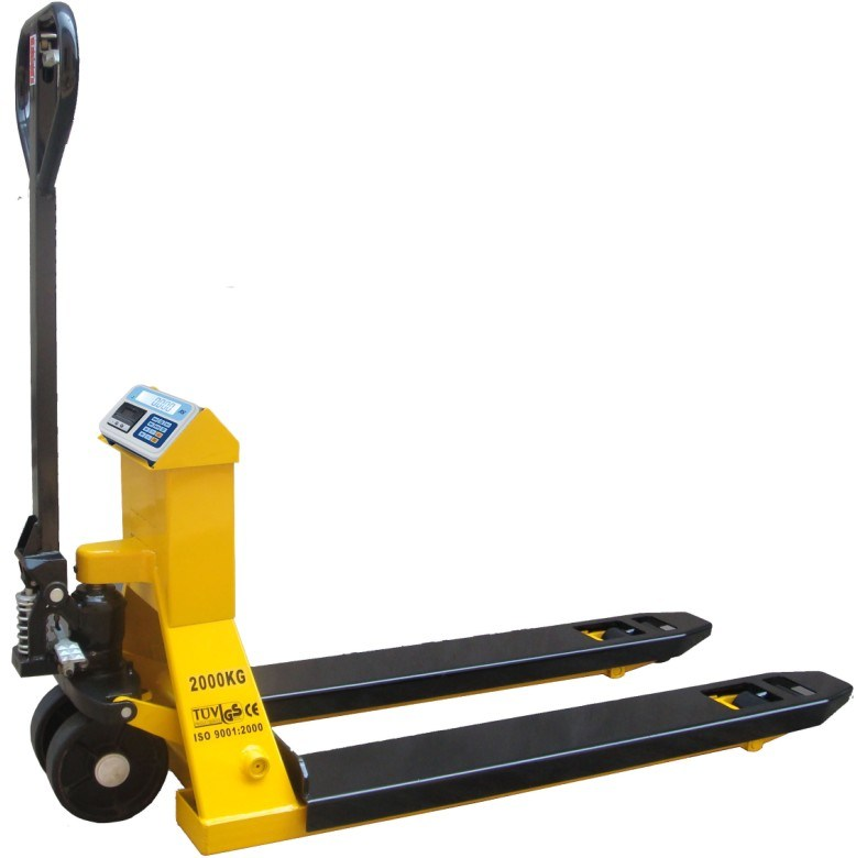 TUV Approved Electronic Pallet Truck Scale of 2000kg