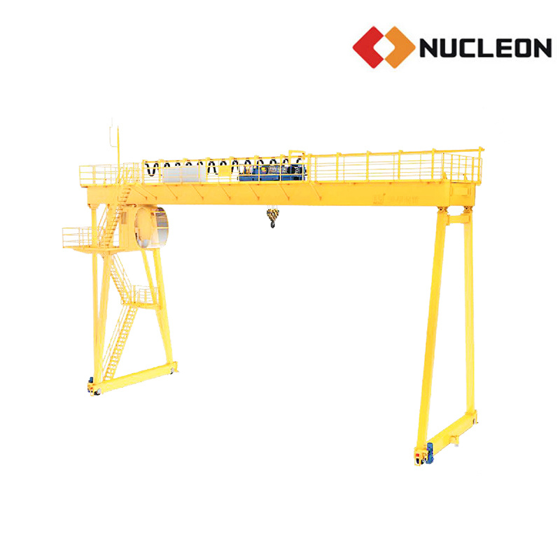 Steel Plant Outdoor Lifting Solution Double Girder Gantry Crane
