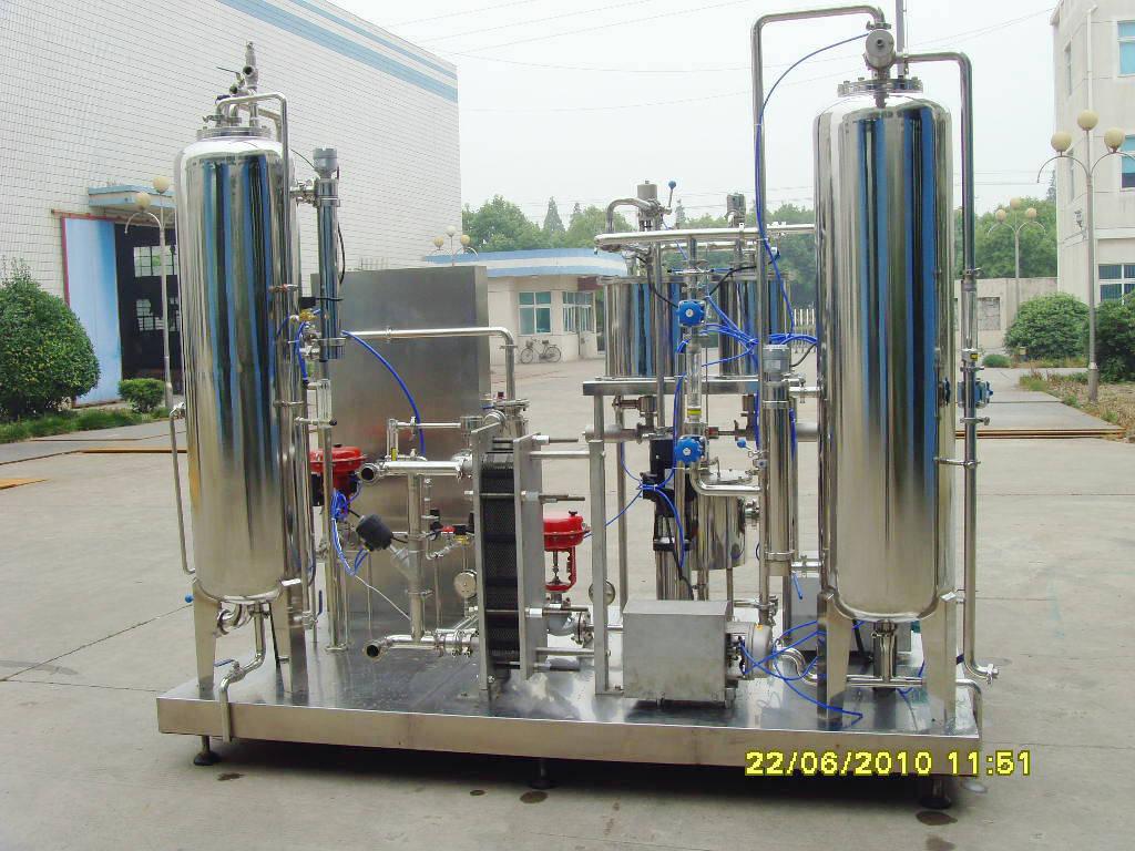 Complete Line for Filling Carbonated Drink