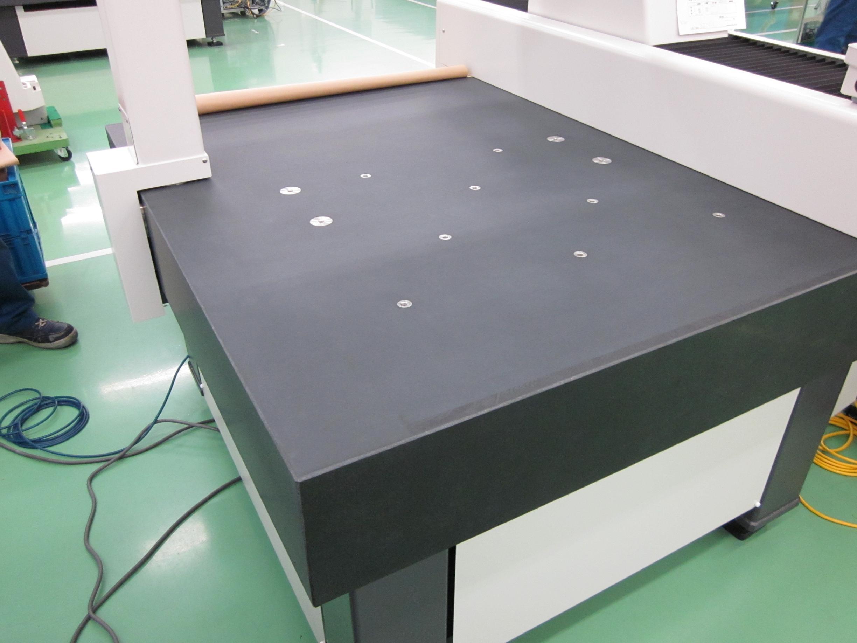 Raster Length Measuring Machine with Granite Base