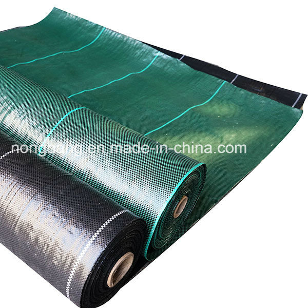 Green Black Color Silt Fence