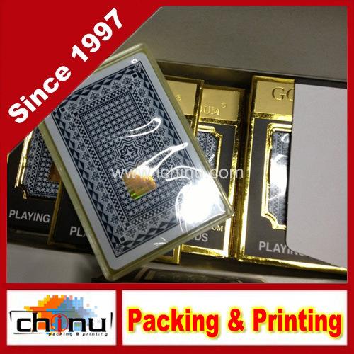 Plastic PVC Custom Printed Playing Cards (430009)