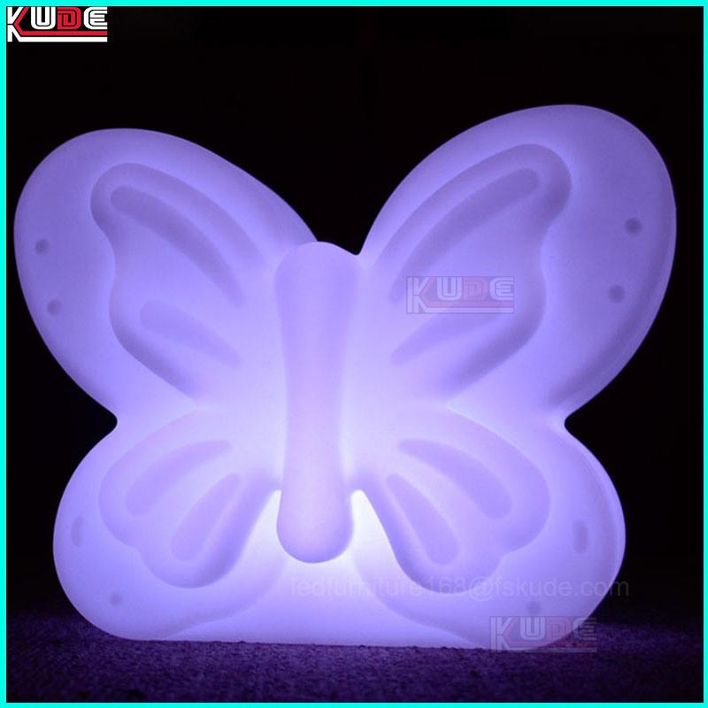 Modern Multi Colof Changing Plastic LED Lighting Bedroom Wedding Lamps