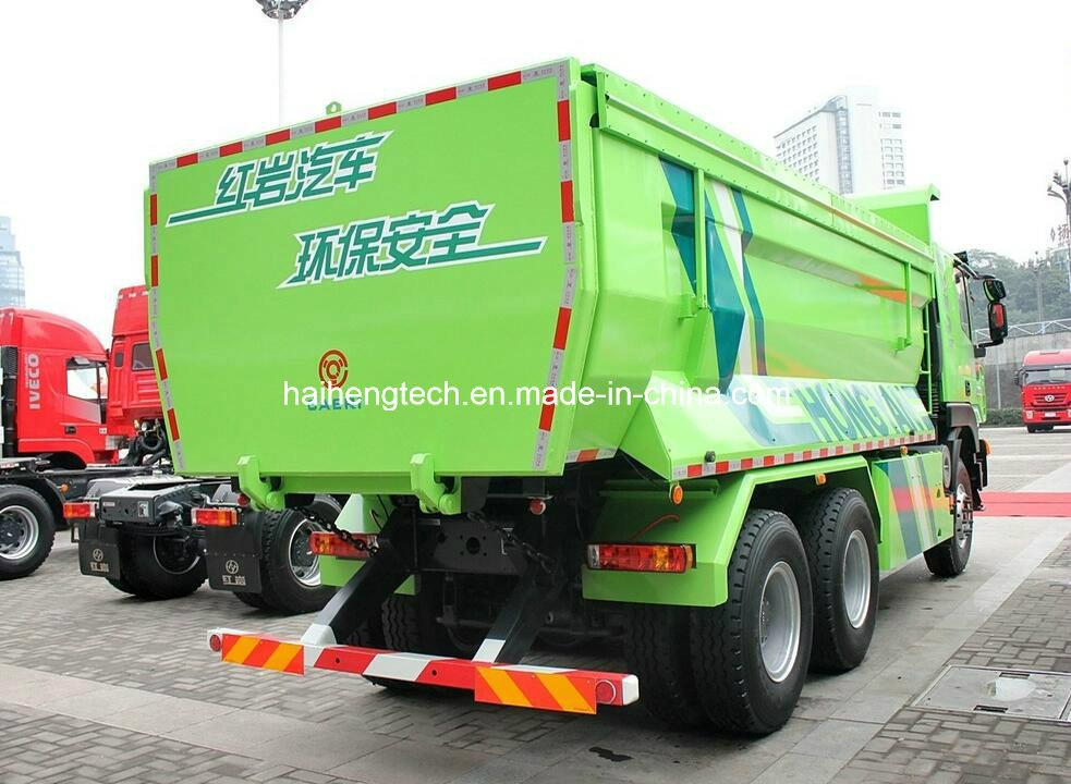 Saic Iveco Hongyan Genlyon 350HP 6X4 Dump Truck/Tipper Truck /Dumper Truck Euro 4 Hot on Sale (U shape residue soil)