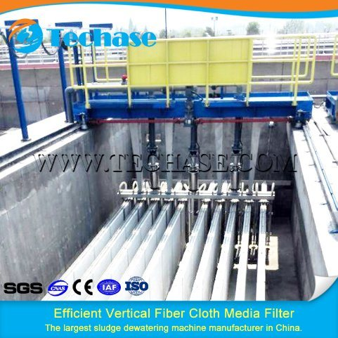 Solids Removal by Fiber Cloth Media Filter