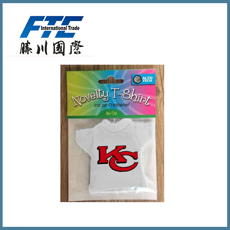 Car Scent Air Freshener T-Shirt Shape