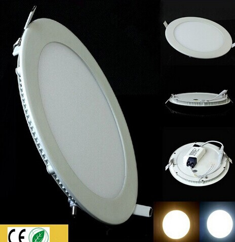 Round Small LED Panel Light 3W -18W