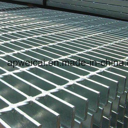 Plain or Serrated Hot DIP Galvanized, Stair Treads, Bar Grating, Steel Grating