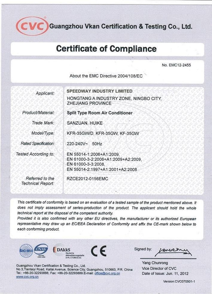 18000-60000 BTU R22 R410A 50Hz 60Hz Carrier Floor Standing Air Conditioner