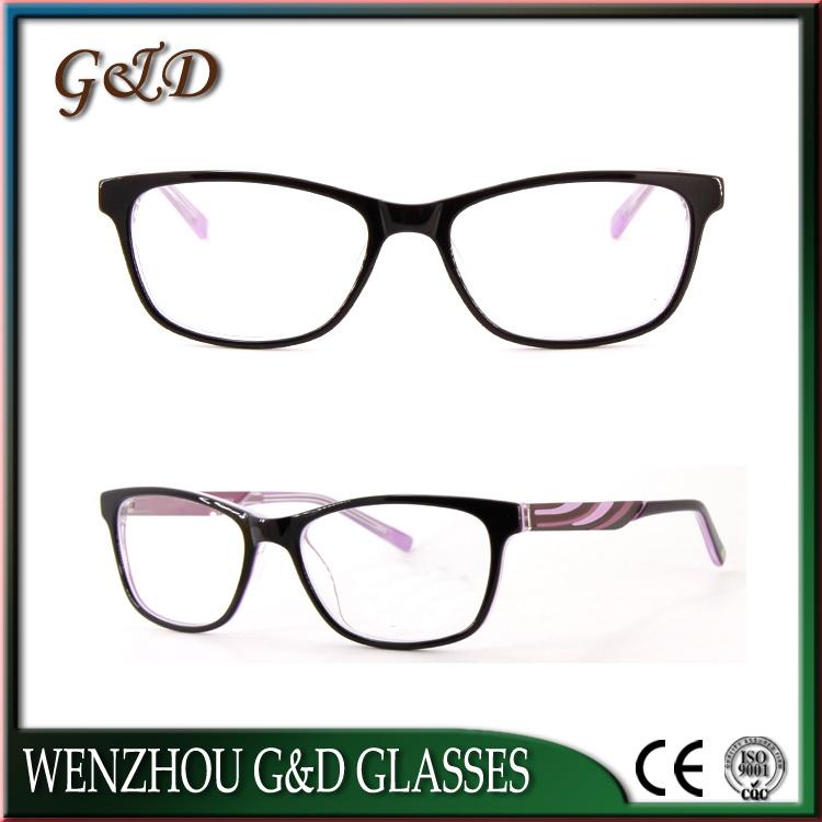 Latest New Design Acetate Optical Frame Eyewear Eyeglass 52-336