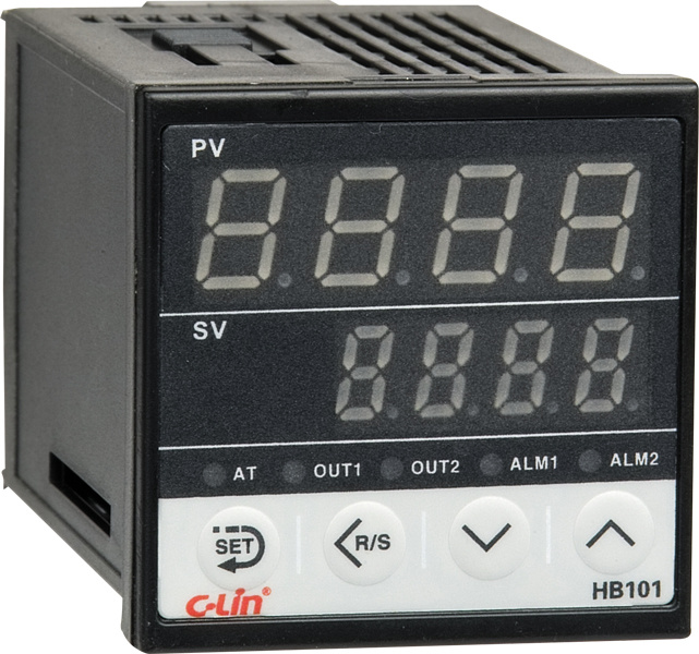 Intelligent Temperature Controllers Hb101 Series 48x48x74mm