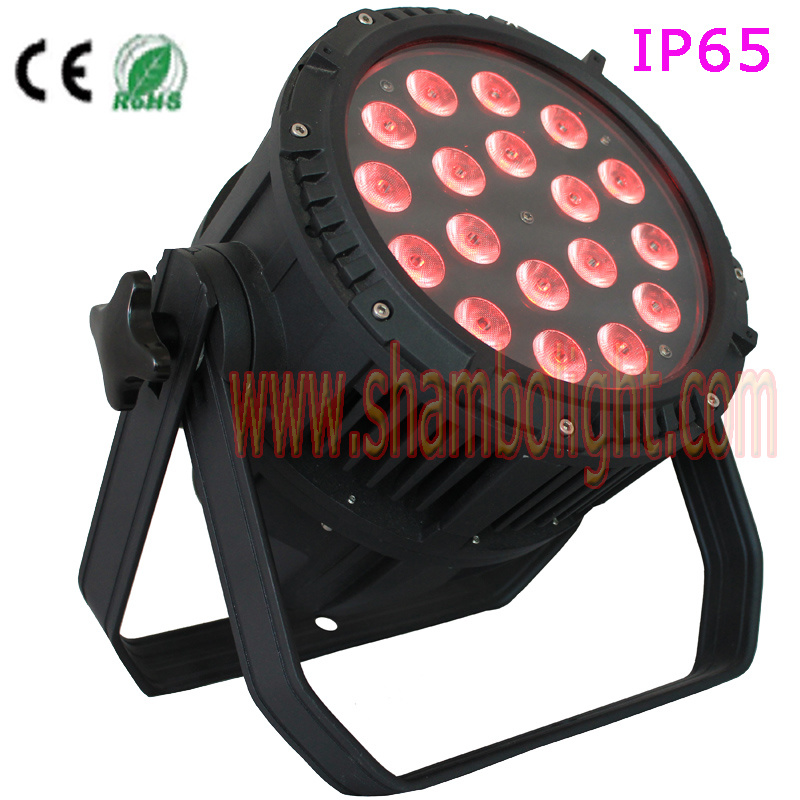 LED Stage Light/IP65 10W*18PCS RGBW LED PAR Can as Disco Light with CE, RoHS