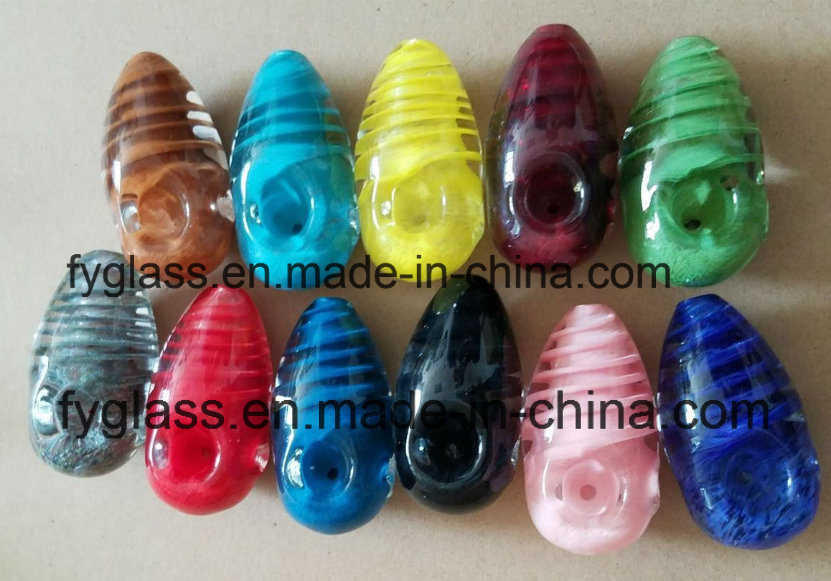 Wholesale Hot Sale New Design Glass Hand Pipe Smoking Pipe Bubbler