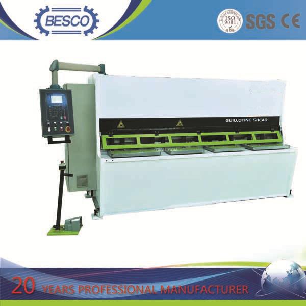 6X3200mm Hydraulic Shearing Machine/Plate Cutting Machine
