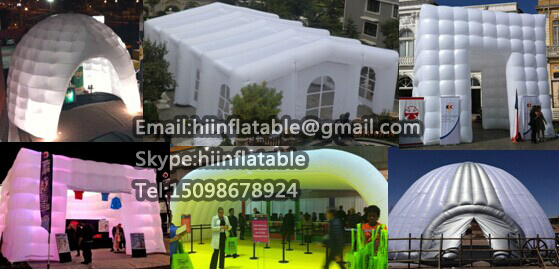 Attractive Advertising Inflatable Dome/Promotional Tent/Inflatable Tent/Exhibition Tent