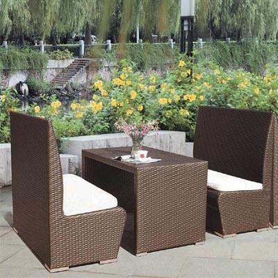 PE Rattan Outdoor Round Sofa Set Furniture