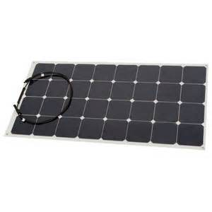 100W 18V Solar Energy Semi Flexible Solar Panel Sunpower Solar Cell Cutting