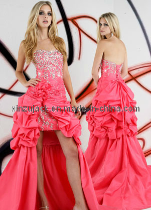 Homecoming Dress on Short Front Long Back Prom Dress  Sz046    Large Image For Prom Dress