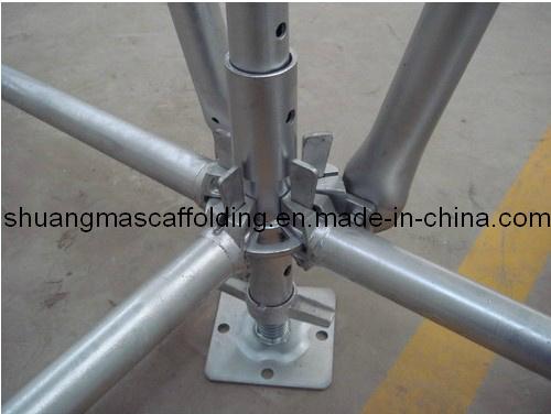 En12810 Construction Walk System Andaime Multidirecional
