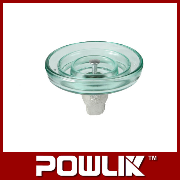 High Voltage Line Fog Type Glass Insulator (LXHP-120)