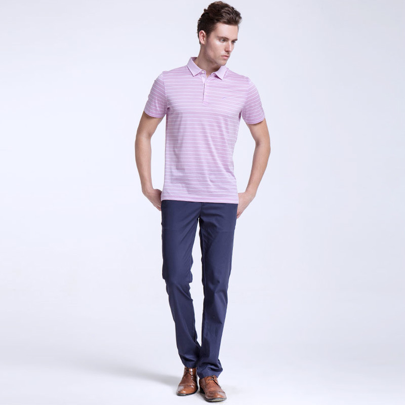 fashion Design Fancy Wear Formal Polo Shirt for Men OEM New Design