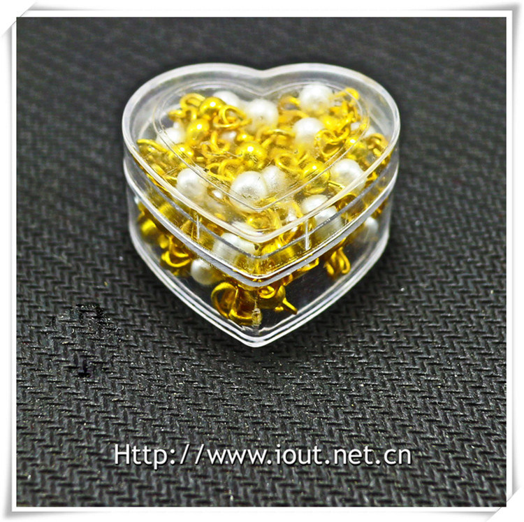 Heart Plastic Packing Box, Rosary Box, Religious Rosaries (IO-p027)