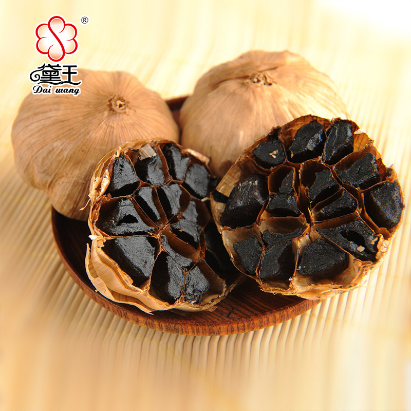 Good Taste Fermented Black Garlic 6 Cm Bulbs (Canned custom)