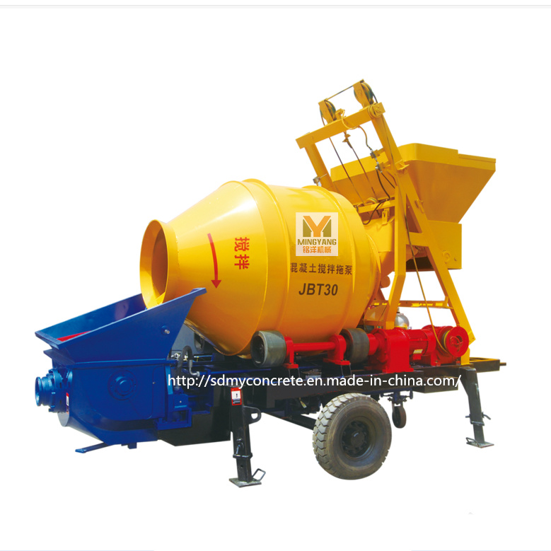 Jbt 30 Concrete Mixer with Pump