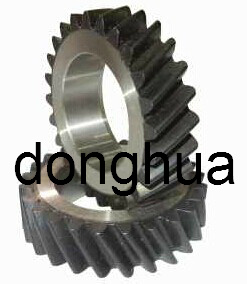Helical Bevel Gear with Inner-Hole Slotting